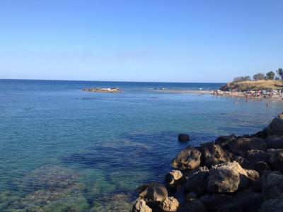 La spiaggia di Marinella a Capo Rizzuto tra le pi� belle d�Italia