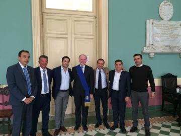 Giuseppe Raffa incontra i neo consiglieri regionali