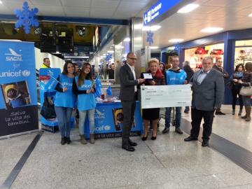 Aeroporto di Lamezia Terme, inaugurati i corner UNICEF