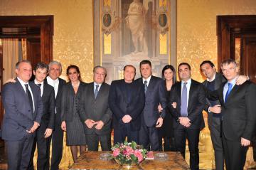 Berlusconi incontra consiglieri regionali Calabria di Forza Italia