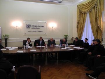 Il Presidente della Provincia, Enzo Bruno, ha incontrato la giunta di Confindustria Catanzaro