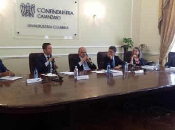 Internazionalizzazione, Paolo Bastaniello a Confindustria Catanzaro