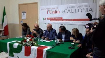 Oliverio a Caulonia: �Ci sono tutte le condizioni per cambiare la Calabria. Se falliremo non avremo alibi�
