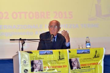 ASP Catanzaro:Il Procuratore Generale Guariniello alla convention sulla sicurezza negli ambienti di lavoro