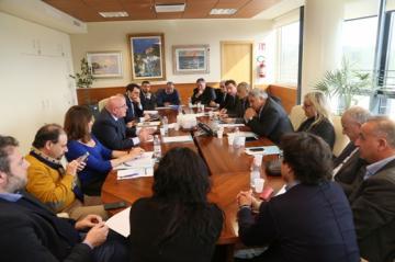 Il presidente Oliverio e l�assessore Roccisano hanno incontrato le organizzazioni sindacali