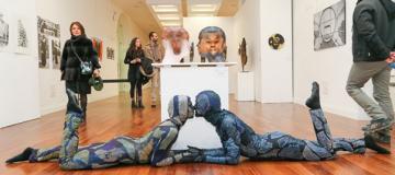 Cerimonia di premiazione alla settima edizione di Limen Arte