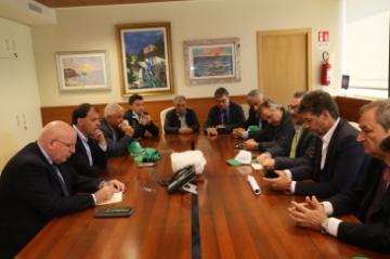 Il Presidente Oliverio ha incontrato i rappresentanti dei lavoratori agricoli