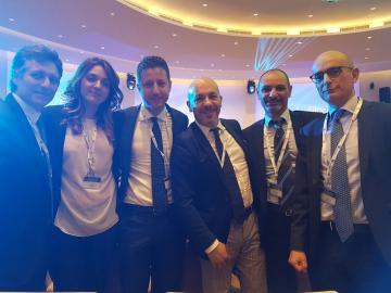 Delegazione di Catanzaro a Roma per l'elezione del presidente di Confindustria