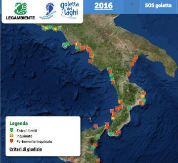 Goletta Verde: Calabria, la mancata depurazione continua a danneggiare il mare