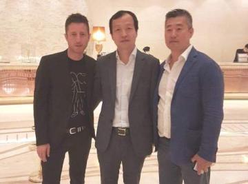 Daniele Rossi ad Hong Kong per promuovere la qualit� italiana ed i marchi calabresi