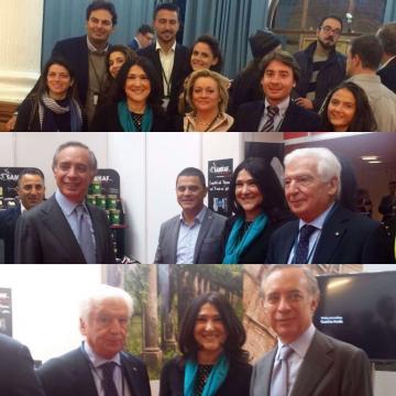 La Camera di Commercio di Cosenza torna a Londra per WELCOME ITALIA 2016