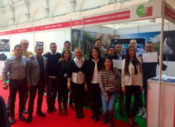 Successo della Camera di Commercio di Cosenza a WELCOME ITALIA 2016