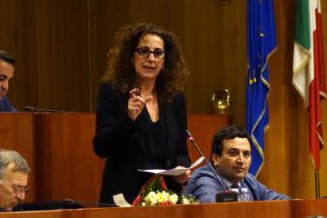Il consigliere regionale Wanda Ferro s'insedia a Palazzo Campanella