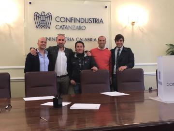Carlo Barberio è il nuovo Presidente del Gruppo Giovani Imprenditori Edili della Provincia di Catanzaro