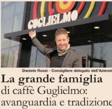 Il Sole24Ore dedica uno spazio al Caffè Guglielmo e alla sua famiglia