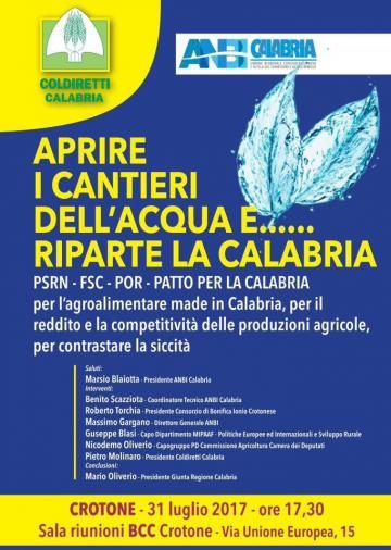 Coldiretti Calabria: incontro a Crotone dal titolo