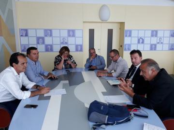 Legalità, lavoro e sviluppo, i temi dell'incontro tra Enzo Bruno e  i sindacati