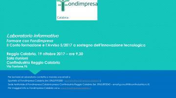 Fondimpresa Calabria: incontro informativo per le imprese