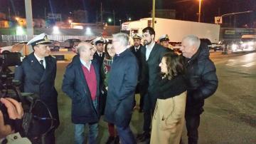E' iniziata da Villa San Giovanni la visita ufficiale di Pat Cox in Calabria