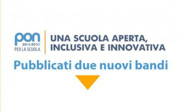 PON Scuola 2014-2020: pubblicati due nuovi bandi, stanziati 280 milioni di euro