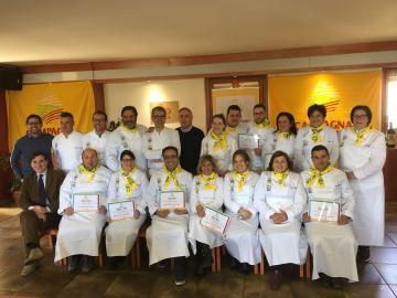 Coldiretti Calabria:si è chiuso il primo corso Regionale agrichef con 16 diplomati