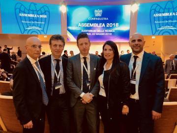 Roma, delegazione di Confindustria Catanzaro all'Assemblea Nazionale